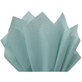 Pack of 4 tissue paper - Baby blue (51cm x 76cm)