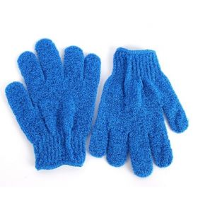 JEMPAK UK®1 pair of Light Blue exfoliating hand gloves - beauty
