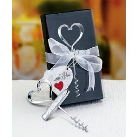 Love design corkscrew in deluxe box (Pack of 2)
