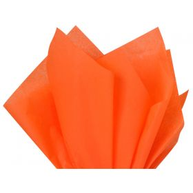 Pack of 4 tissue paper - Orange (51cm x 76cm)