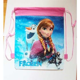 FROZEN  ANNA - kids drawstring backpack gym/swimming/school bag