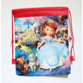 Princess Sofia - kids drawstring backpack gym/swimming/school bag