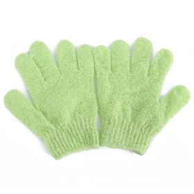 JEMPAK UK®1 pair of Light Green exfoliating hand gloves - beauty