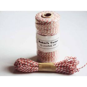 JEMPAK UK 10M x 2mm thick 100% cotton bakers twine  - orange
