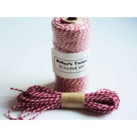 JEMPAK UK 10M x 2mm thick 100% cotton bakers twine new  - valentine's day