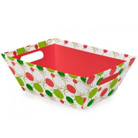 Set of 3 Hip Holiday design Xmas gift boxes (25cm length x 19cm width x 9cm deep)
