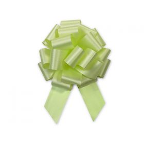 36mm embossed pull bow (Pack of 10) - Celery