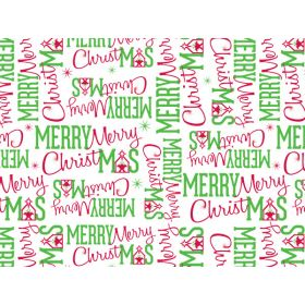 JEMPAK UK Pack of 6 Merry Christmas Manger Tissue Paper (51cm x 76cm)